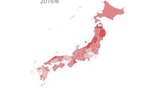 参院選、日本各地の投票率は?
