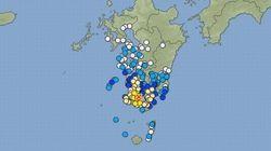 【地震情報】鹿児島市で震度5強 震源地は鹿児島湾