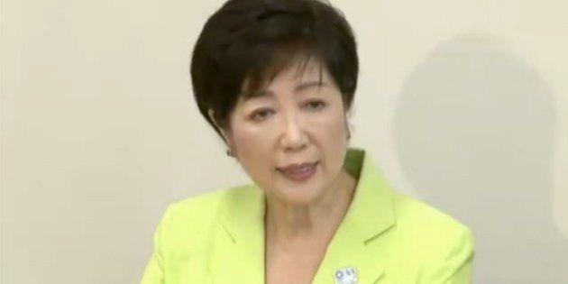 小池百合子氏「当選したら都議会を解散」