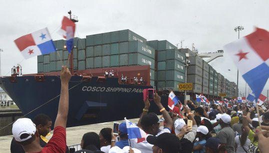パナマ運河が拡張工事完了、従来の3倍の貨物量が通過可能に 最初に通過した船は...(画像集)