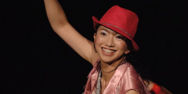 Miwa Yoshida of Dreams Come True during MTV THE SUPER DRY LIVE 2005 at Yoyogi National Sports Centre...