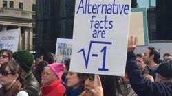 「トランプ政権は科学的根拠に基づく政策決定を」科学者がボストンで抗議デモ