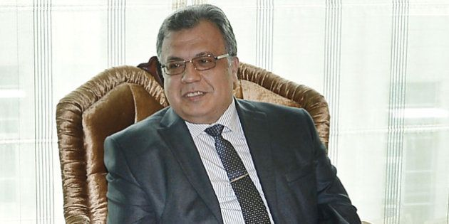 A picture taken on June 4, 2014 in Ankara, shows Andrey Karlov, the Russian ambassador to Ankara.Karlov...