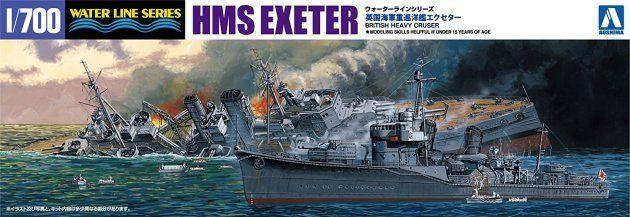 「限定 英国海軍 重巡洋艦 エクセター