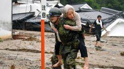 【九州豪雨】50人避難の小学校に自衛隊が近づけず 福岡県朝倉市の杷木地区