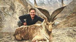 미국인 사냥꾼이 멸종위기 종 염소를 합법적으로