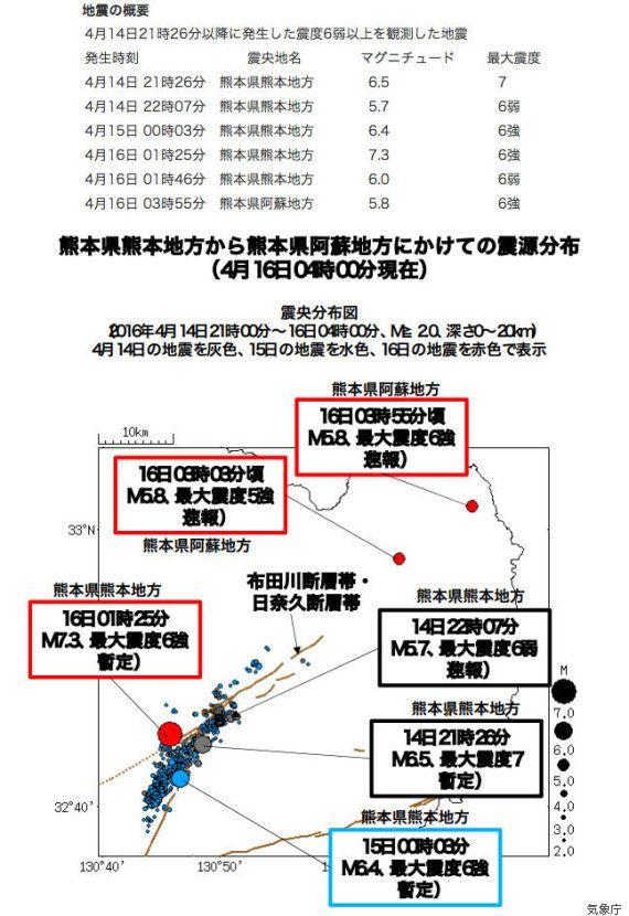 【UPDATE】熊本・大分で強い地震続く 一連の地震で41人死亡