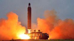北朝鮮が弾道ミサイル発射 日米共同声明に反発か
