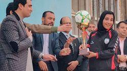 アフガニスタン:障がい児主体の学校祭