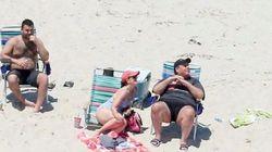 州知事が公共ビーチを閉鎖⇒そのビーチで家族と休暇 批判の声殺到
