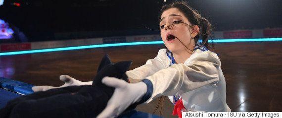 ブルゾンちえみ、織田信成に本気ツッコミ「スケート界のバケモン達が...!」