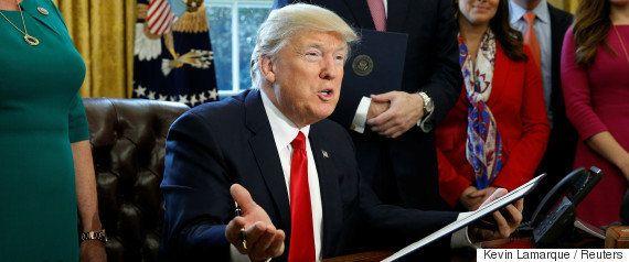 入国禁止令の復活を求めてトランプ大統領側が上訴