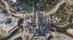 これが上海ディズニーランドだ。空から捉えた中国の「夢の国」(画像集)