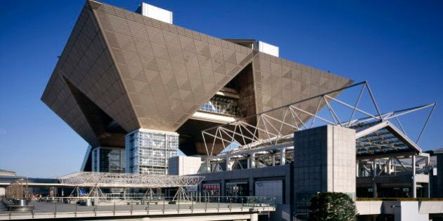 Big sight International Exhibition hall, Tokyo, Japan,