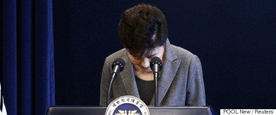 朴槿恵大統領、ネット放送のインタビューに出演 一連の事件「誰かが仕組んだ」