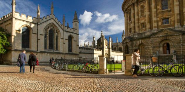 Radcliffe Camera and All Souls College, University of Oxford,