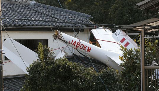 「飛行機が落ちてきた」グライダーが千葉の民家に墜落