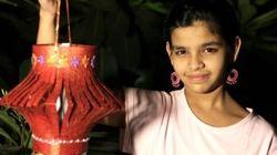 13歳の少女は、ストリートチルドレンのために希望の灯りを灯す