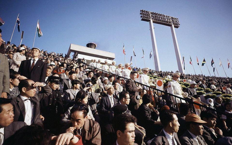 1964 開会 オリンピック 式 東京