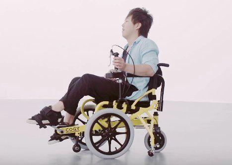 「自分自身の足で動ける喜びを感じます」カンヌで表彰された日本製の車いすとは?
