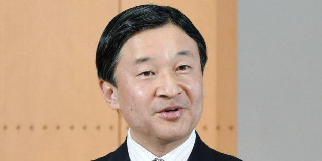 23日の誕生日(56歳)を前に記者会見される皇太子さま=2月19日、東京・元赤坂の東宮御所[代表撮影]