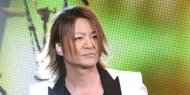 URAYASU, JAPAN - JUNE 14: TERU of GLAY performs on stage during MTV Video Music Awards Japan 2014 at...