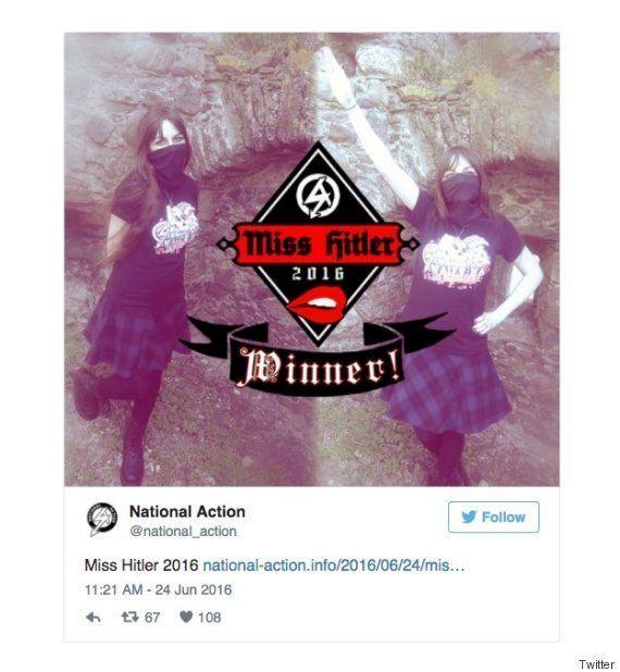 ネオナチ組織「ナショナル・アクション」、イギリスで初の非合法化