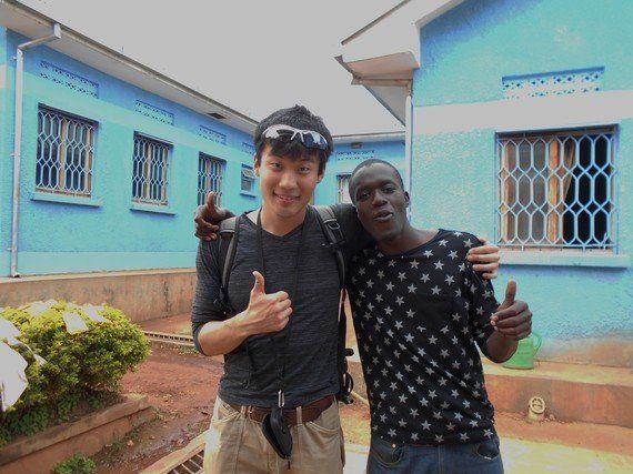 「夢」を叶えたウガンダの青年~HIV/AIDs孤児院訪問~