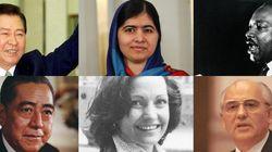 ノーベル平和賞、歴史をつくった言葉と人々を振り返る(画像集)