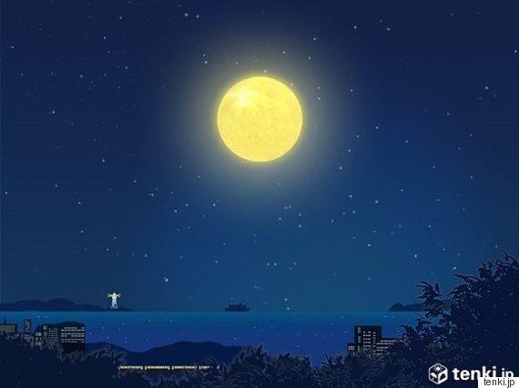 中秋の名月に続き、9月28日はスーパームーン 夜の天気は?