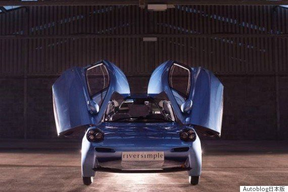 リバーシンプル社、水素燃料電池車のプロトタイプ「Rasa」を発表 2018年の市場投入を目指す
