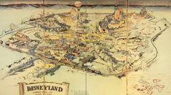 ディズニーランド「最初の地図」が7900万円で落札 ウォルトが同僚と構想したときはこうだった。