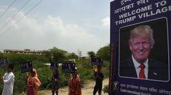 「トランプ村」がインドに誕生 本人の許可なく名付ける その目的とは?