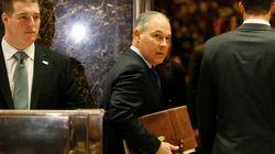 「温暖化は排出ガスのせいではない」と主張する人物、アメリカの環境保護庁長官に