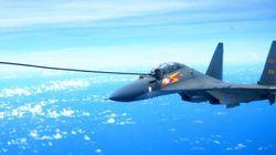 「自衛隊の戦闘機が妨害弾」と中国が抗議