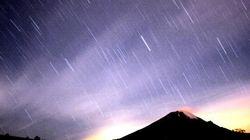 ふたご座流星群 13日(火)から14日(水)にかけて見頃