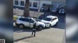 ただの接触事故が、女の戦いinロサンゼルスに発展(動画)
