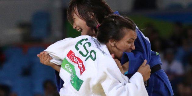 2016 Rio Paralympics - Judo - Final - Women's 57 kg Bronze Medal Final A - Carioca Arena 3 - Rio de Janeiro,...