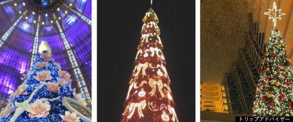 何でも三角形状に積み重ねたら、クリスマスツリーになることがわかる(動画)