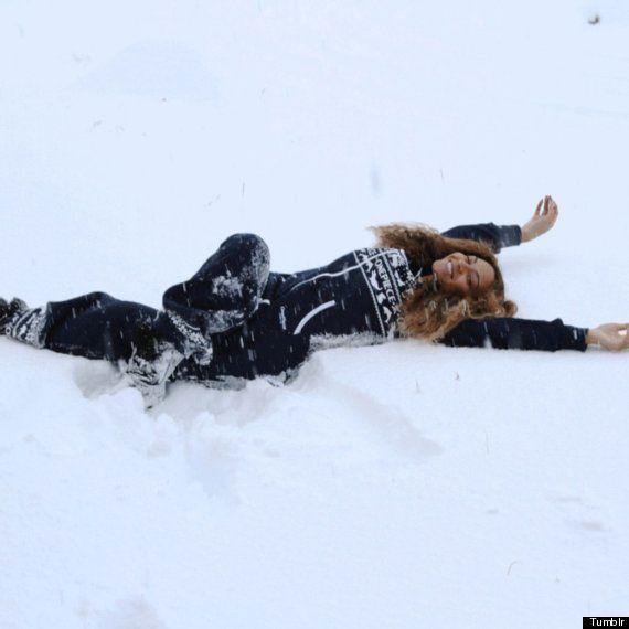 ビヨンセとジェイ・Zのアイスランド旅行はまるでマジカル・ウィンター・ワンダーランド(画像)