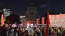 【安保法案】国会前デモで元自衛官「遠い外国で人殺しするために入った人なんていない」(動画)
