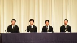 TOKIO、山口達也だけがいない記者会見。4人のメンバーの表情は【UPDATE】