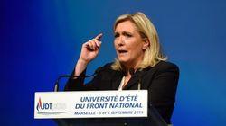 フランス極右のルペン党首「流入する難民の99%が男性」
