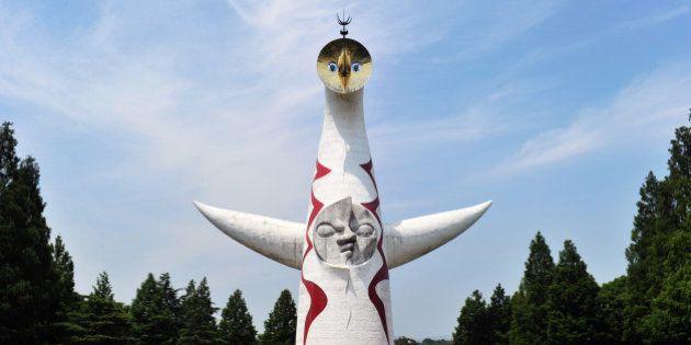「太陽の塔」10年ぶりの内部公開へ メディア向け内覧会を生中継