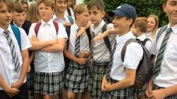 「半ズボン禁止の校則はおかしい」