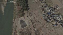 鬼怒川の氾濫、ソーラーパネル設置で丘が削り取られていた場所からも