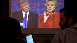 「心理戦略」にはまったトランプ候補:専門家を入れ周到準備のクリントン陣営
