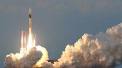 エックス線衛星「アストロH」打ち上げ