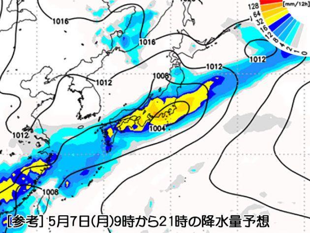 今夜から7日、西・東日本は大雨に警戒