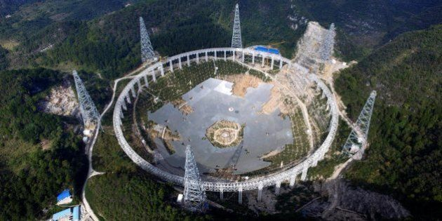 宇宙人を探すため9000人が立ち退きへ。中国の電波望遠鏡プロジェクト